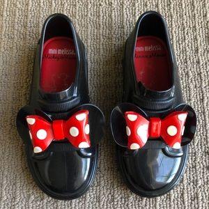 Mini Melissa Minnie Mouse tennis shoes